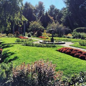 Chamberlain garden
