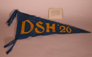 State Hospital Pennant and Invitation