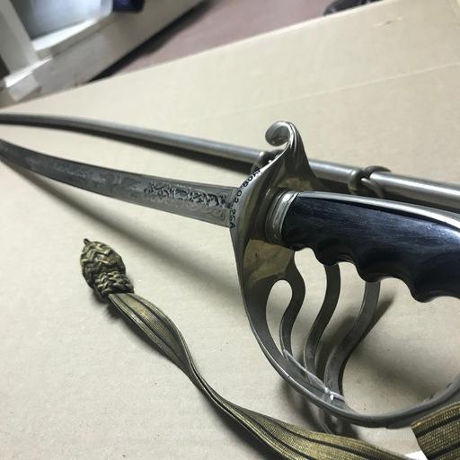 Sword with Tassle