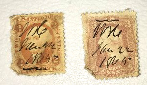 Postage Stamps #- DH2541